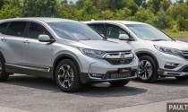 So sánh Honda CR-V thế hệ mới và cũ qua ảnh