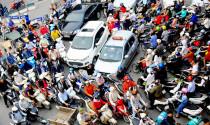 Đề án hạn chế xe cá nhân tại Hà Nội: Bỏ thu hồi xe máy cũ, cấm ô tô theo giờ