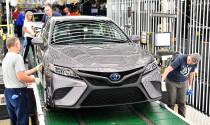 Toyota Camry 2018 chính thức đi vào sản xuất tại Kentucky
