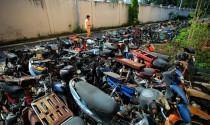 10.000 xe máy vi phạm giao thông tại TP.HCM sẽ được bán đấu giá