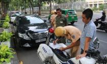 Mức phạt cụ thể đối với hành vi dừng, đỗ xe ô tô sai quy định