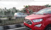 Rò rỉ diện mạo của Ford EcoSport facelift tại Ấn Độ