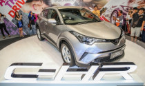 Toyota C-HR tiếp tục được trưng bày tại các showroom Malaysia