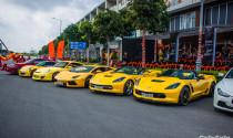 Dàn siêu xe khủng tụ họp khoe dáng tại Sài Gòn
