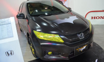 Honda City cá tính hơn với họa tiết trang trí Batman