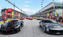 Ấn tượng với màn diễu hành của 157 chiếc Ferrari