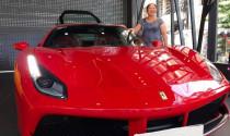 Ca sĩ Tuấn Hưng tậu Ferrari 488 GTB giá trên 14 tỷ đồng