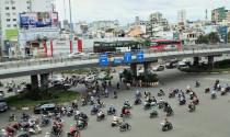 Tp.HCM: Từ 21-10, cho xe máy chạy trên cầu vượt Hàng Xanh