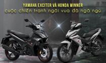 Yamaha Exciter và Honda Winner – cuộc chiến tranh ngôi vua đã ngã ngũ