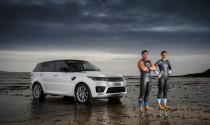 Xem Range Rover Sport 2018 bơi cùng các vận động viên