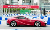 Ferrari ra mắt 812 SuperFast tại trường đua ven sông Thái Lan