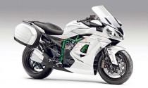 Kawasaki đốn tim dân phượt bằng siêu mô tô Ninja H2 Sport Touring