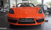 """Cận cảnh Porsche 718 Boxster màu Lava Orange """"độc nhất"""" Việt Nam giá 4,57 tỷ"""