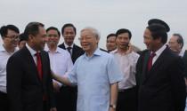 Tổng Bí thư Nguyễn Phú Trọng thăm dự án sản xuất ô tô Vinfast