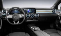 Lộ diện thiết kế nội thất Mercedes-Benz A-Class 2018