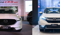 Mazda CX-5 và Honda CR-V, xe nào đáng mua?