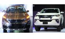 Peugoet 5008 2017 có cạnh tranh nổi Toyota Fortuner 2017?