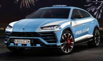Lộ diện Lamborghini Urus phiên bản cảnh sát