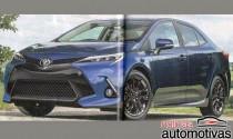 Toyota Corolla 2019 lộ diện, gần giống Camry