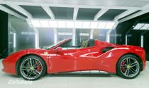 Ngắm chi tiết Ferrari 488 GTB Spider tại Hà Nội