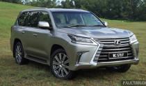 Lexus LX570 giảm 430 triệu đồng tại Malaysia