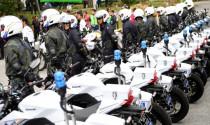 Cảnh sát Malaysia nhận 871 xe tuần tra Kawasaki, trị giá hơn 7 triệu đô