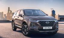 Hyundai Santa Fe 2018 lộ diện với sự cách tân mạnh mẽ