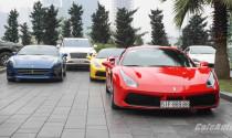 Đoàn siêu xe quy tụ tại Hà Nội tham gia Car & Passion 2018