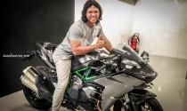 Tỷ phú sở hữu Kawasaki Ninja H2 Carbon đầu tiên trị giá 1,3 tỷ đồng