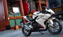 Honda CBR250RR 2018 màu trắng chuẩn bị ra mắt, giá không đổi
