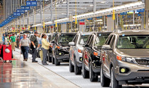 Lượng ô tô nhập khẩu tặng vọt trong tuần đầu tiên của tháng 3/2018