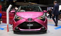 Mẫu xe mới Toyota Aygo trình làng tại Geneva 2018