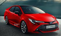 Toyota Corolla Altis 2019 lộ diện qua bản phác thảo