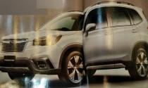 Subaru Forester 2019 rò rỉ hình ảnh trước khi ra mắt