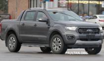 Ford Ranger Wildtrak chạy thử nghiệm tại Mỹ, sắp ra mắt tại Thái Lan