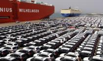 Lượng ô tô nhập khẩu trong tuần cao nhất từ đầu năm 2018