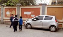 Ủy ban ATGT Quốc gia nghiêm cấm lái ôtô, dừng đỗ xe trong trường học