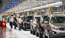 Lượng ô tô về Việt Nam giảm mạnh trong tuần qua
