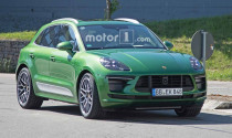Porsche Macan 2019 bị bắt gặp trên đường chạy thử