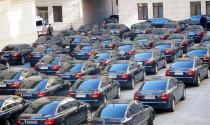 Thượng tướng được sử dụng xe công với giá tối đa 1,1 tỷ đồng