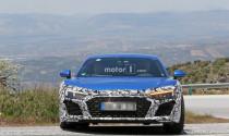 Audi R8 sử dụng động cơ V6 của Porsche Panamera bị bắt gặp trên đường chạy thử