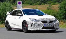 Hé lộ hình ảnh Honda Civic Type R 2019 chạy thử nghiệm