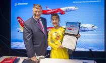 Vietjet mua thêm 100 máy bay Boeing trị giá 12,7 tỷ USD