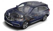 Acura MDX Sport Hybrid có thêm nhiều lựa chọn màu sắc mới