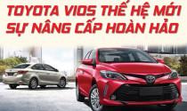 Toyota Vios thế hệ mới sự nâng cấp hoàn hảo