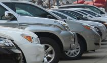 Lượng xe nhập về giảm 1/3 so với tuần trước