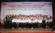 Toyota cấp học bổng đào tạo chuyên ngành Công nghệ Ô tô cho sinh viên Việt