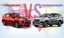 Toyota Rush vừa ra mắt có khiến khách hàng đặt cọc Mitsubishi Xpander cân nhắc?