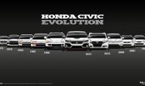 Hành trình lột xác qua 10 thế hệ của Honda Civic