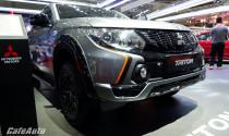 Cận cảnh đối thủ 'ông vua bán tải Ranger' – Mitsubishi Triton Athlete tại triển lãm VMS 2018
